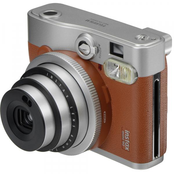 Fujifilm Instax Mini 90 Neo Classic - Aparat Foto Instant maro (Brown) 3