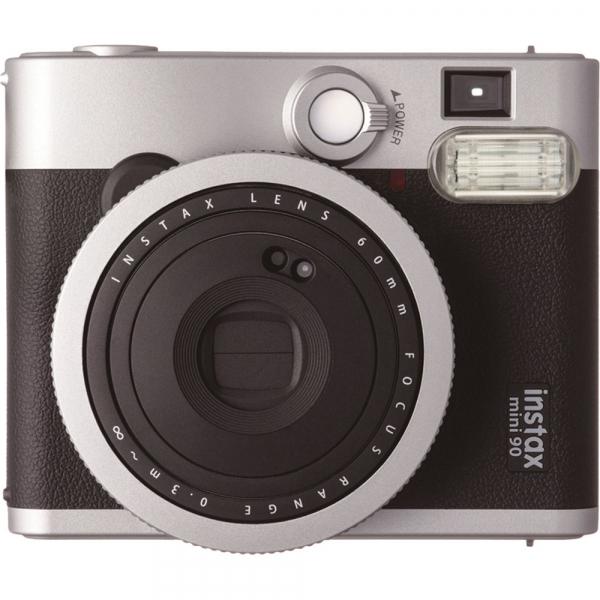Fujifilm Instax Mini 90 Neo Classic - Aparat Foto Instant negru (Black) 1