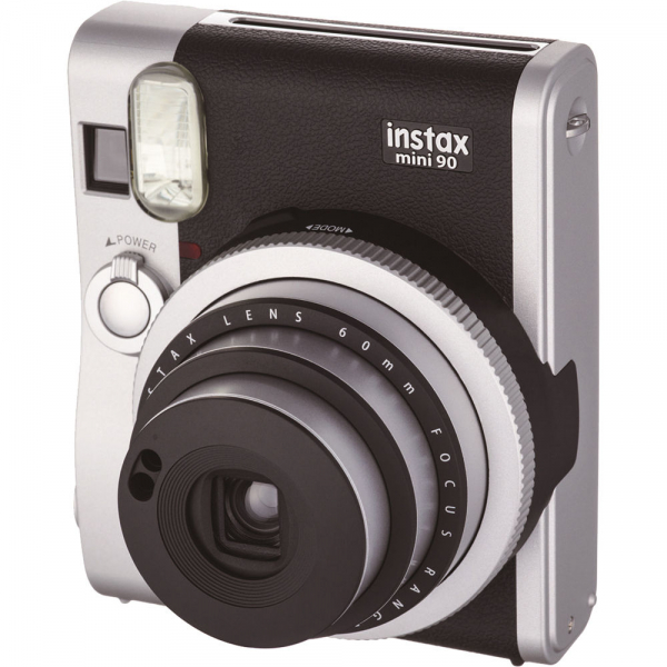 Fujifilm Instax Mini 90 Neo Classic - Aparat Foto Instant negru (Black) 2