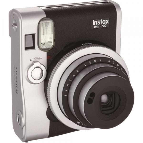 Fujifilm Instax Mini 90 Neo Classic - Aparat Foto Instant negru (Black) 0