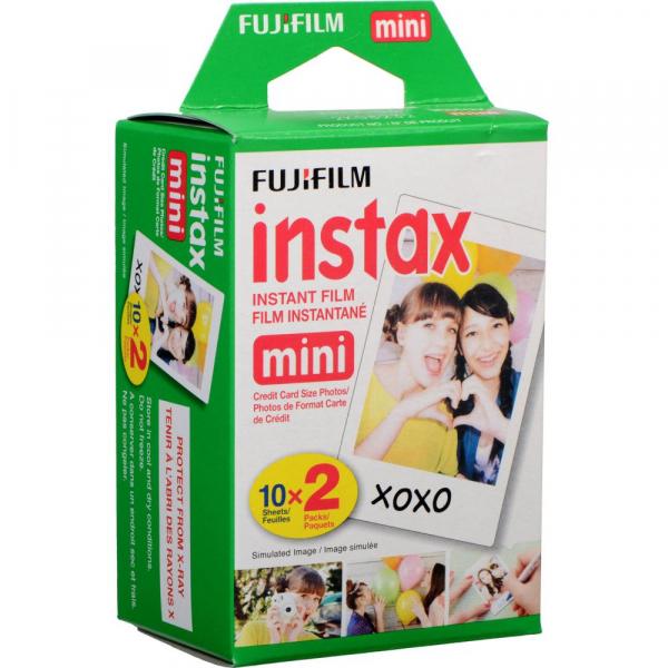 Fujifilm instax mini Instant Film (2 x 10 bucati) 0