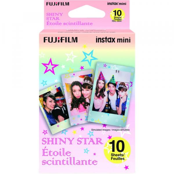 Fujifilm Instax Mini Shiny Star - film instant 10 bucati 0