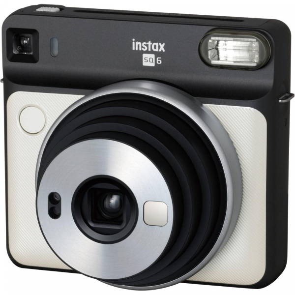 Fujifilm instax SQUARE SQ6 Instant Film Camera (Pearl White) 1