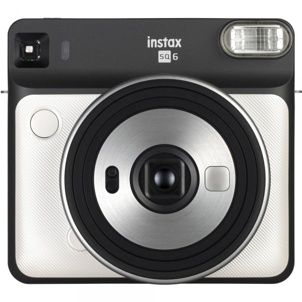 Fujifilm instax SQUARE SQ6 Instant Film Camera (Pearl White) 0