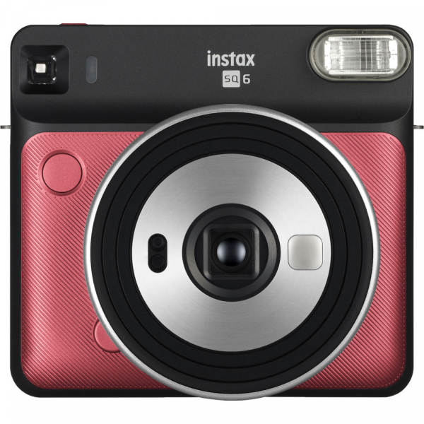 Fujifilm instax SQUARE SQ6 Instant Film Camera (Ruby Red) 0