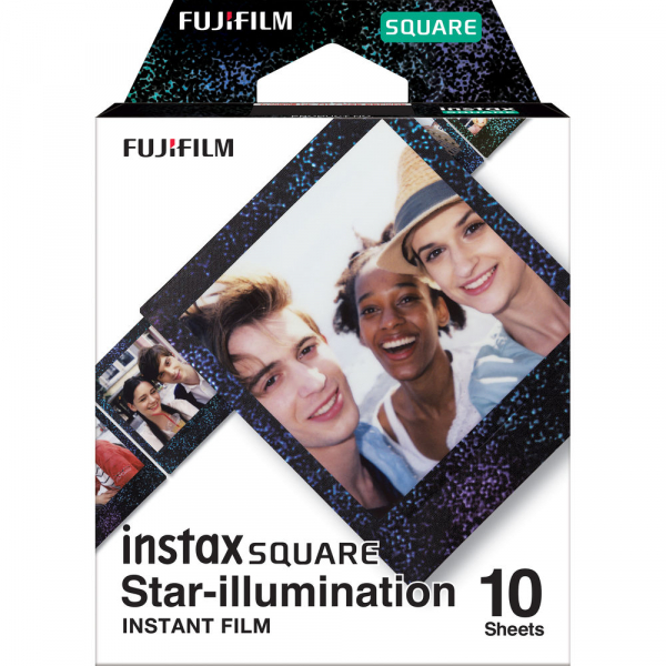 Fujifilm instax SQUARE Star-Illumination Instant Film Rama stele (10 bucatii) 0