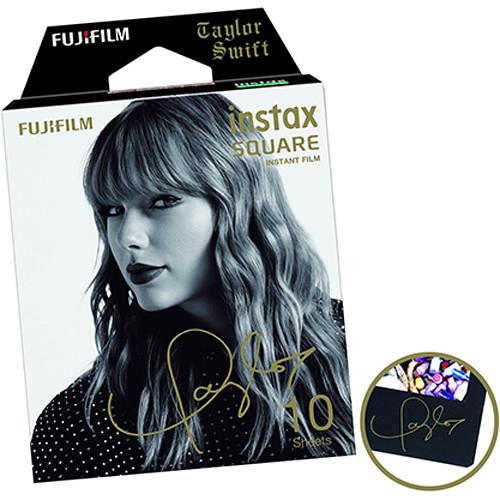 Fujifilm instax SQUARE Taylor Swift Edition -Instant Film Rama neagra (10 bucatii) 2