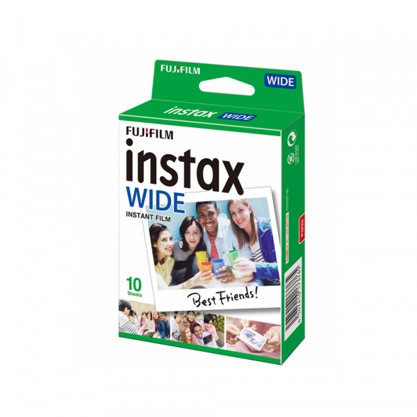 Fujifilm Instax Wide Color- film instant 10 bucati 0