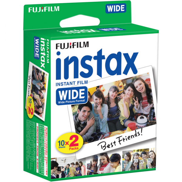 Fujifilm Instax Wide Color- film instant ( 2 x 10 bucati ) 0