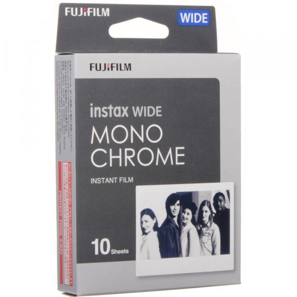 Fujifilm Instax Wide Monochrome - film instant 10 bucati [0]