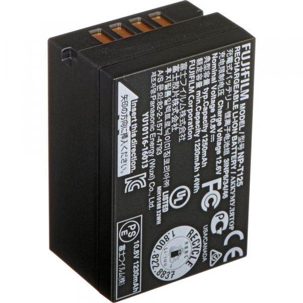 Fujifilm NP-T125 - acumulator foto pentru GFX 50R / 50S / GFX100 0