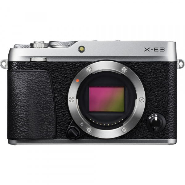 Fujifilm X-E3, Mirrorless 24MP, 4K body - argintiu + XF 18-55mm 3