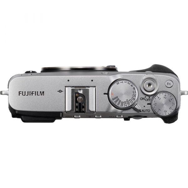 Fujifilm X-E3, Mirrorless 24MP, 4K body - argintiu + XF 18-55mm 5