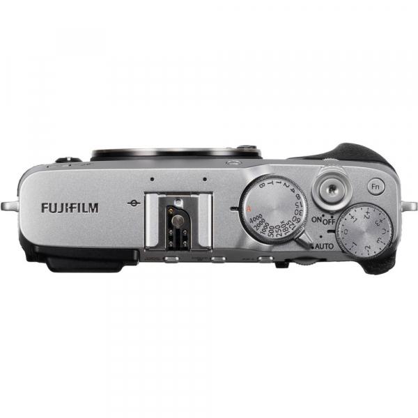 Fujifilm X-E3, Mirrorless 24MP, 4K, argintiu - Kit cu XC 16-50mm F3.5-5.6 OIS II Black [4]