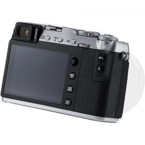 Fujifilm X-E3, Mirrorless 24MP, 4K, argintiu - Kit cu XC 16-50mm F3.5-5.6 OIS II Black [7]