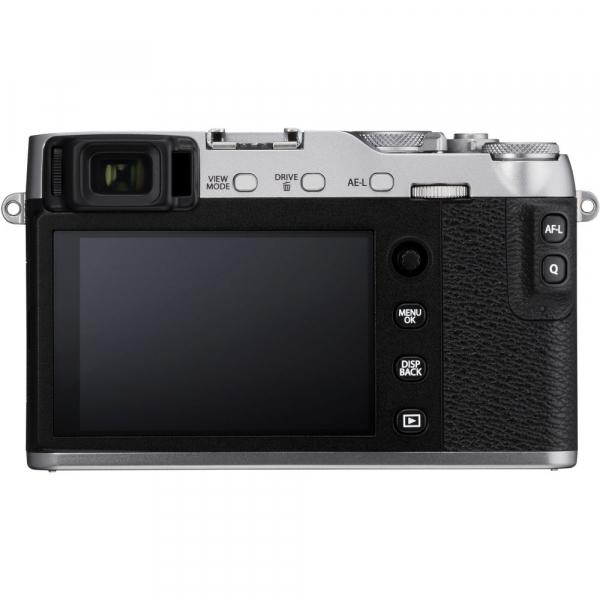 Fujifilm X-E3, Mirrorless 24MP, 4K, argintiu - Kit cu XC 16-50mm F3.5-5.6 OIS II Black [3]
