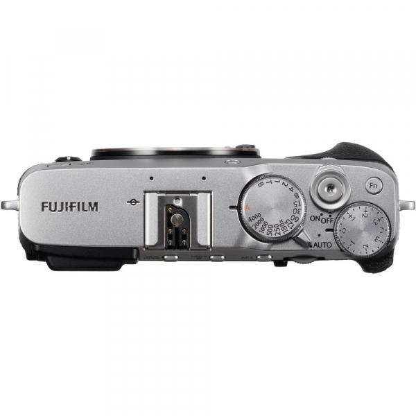 Fujifilm X-E3, Mirrorless 24MP, 4K + obiectiv XF 23mm f/2 R WR kit - argintiu [5]