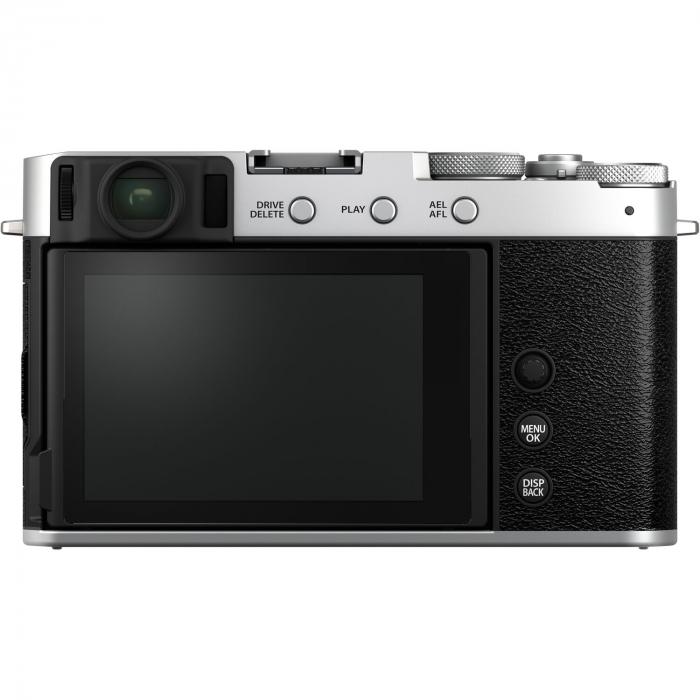 Fujifilm X-E4 , Mirrorless 26MP, 4K body - argintiu 1