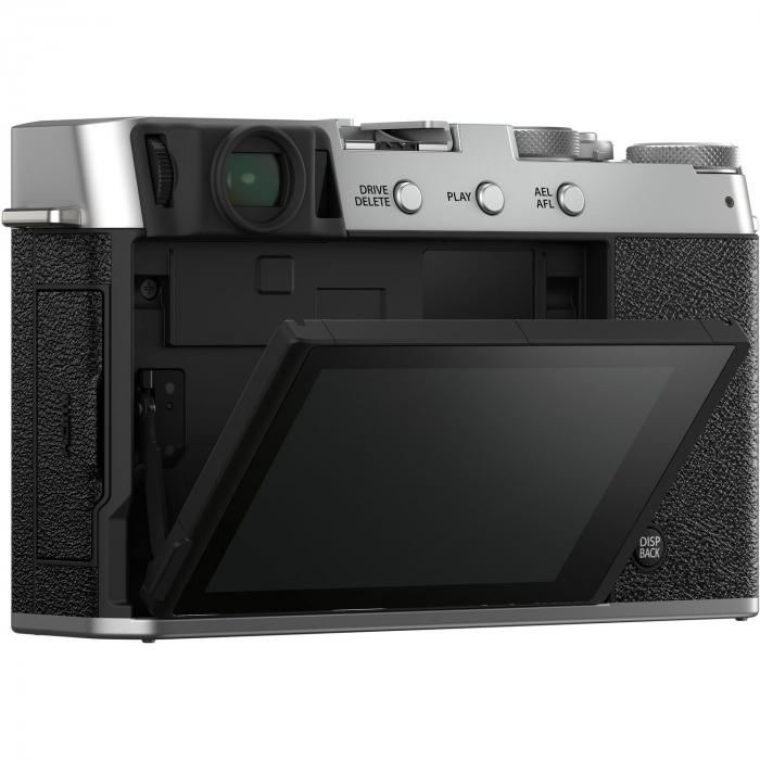 Fujifilm X-E4 , Mirrorless 26MP, 4K body - argintiu 3