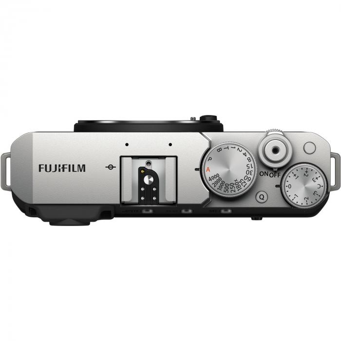 Fujifilm X-E4 , Mirrorless 26MP, 4K body - argintiu 2
