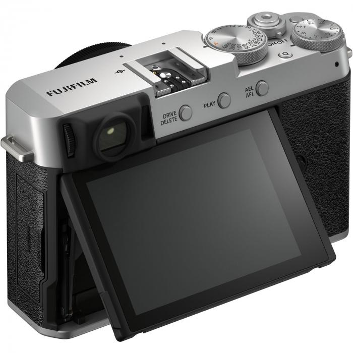 Fujifilm X-E4 , Mirrorless 26MP, 4K body - argintiu 4