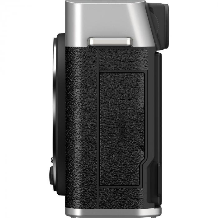 Fujifilm X-E4 , Mirrorless 26MP, 4K body - argintiu 6