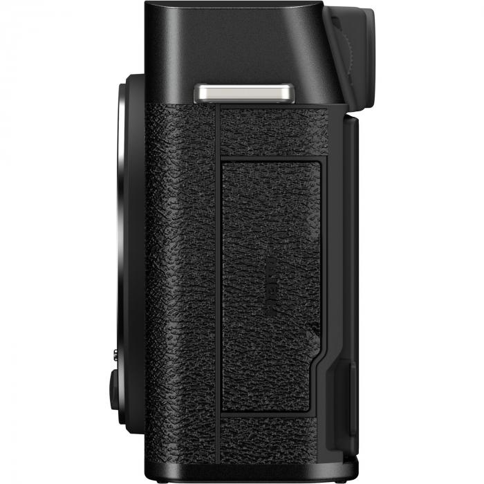 Fujifilm X-E4 , Mirrorless 26MP, 4K body + Grip MHG-XE4 + Thumb Rest TR-XE4 -negru [5]