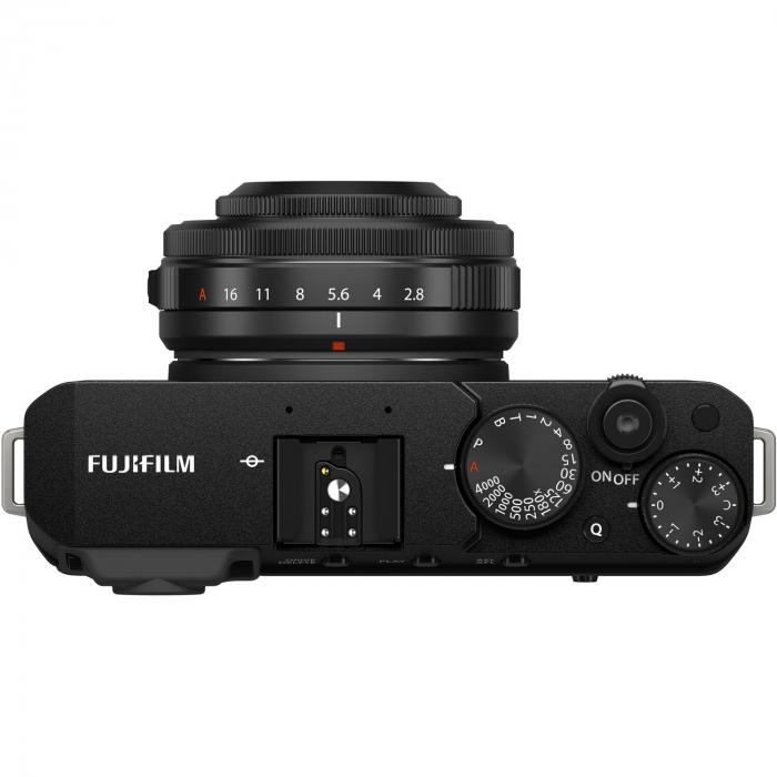 Fujifilm X-E4 , Mirrorless 26MP, 4K body - negru + XF 27mm F 2.8 R WR [3]