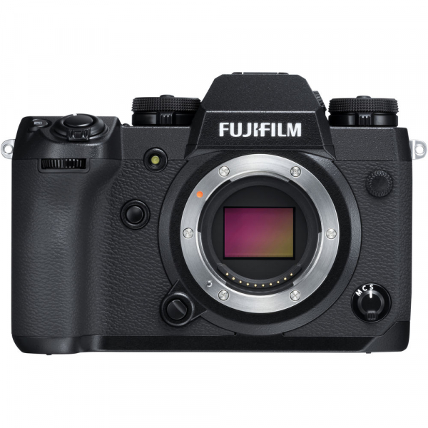 Fujifilm X-H1, Mirrorless 24MP, 4K body - negru 0