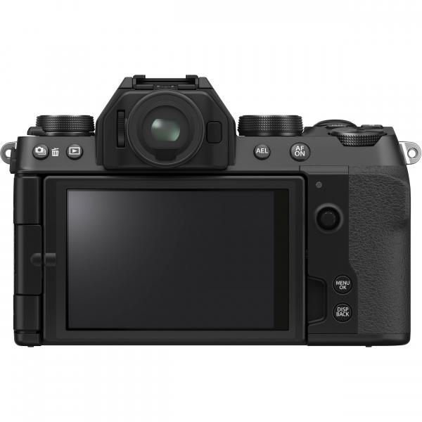 FUJIFILM X-S10 Mirrorless Digital Camera Kit cu Obiectiv XF 18-55mm Negru + Fujifilm 55-200mm F3.5-4.8 R LM OIS XF 8