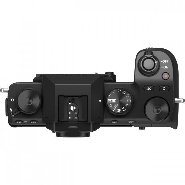 FUJIFILM X-S10 Mirrorless Digital Camera Kit cu Obiectiv XF 18-55mm Negru + Fujifilm 55-200mm F3.5-4.8 R LM OIS XF 9