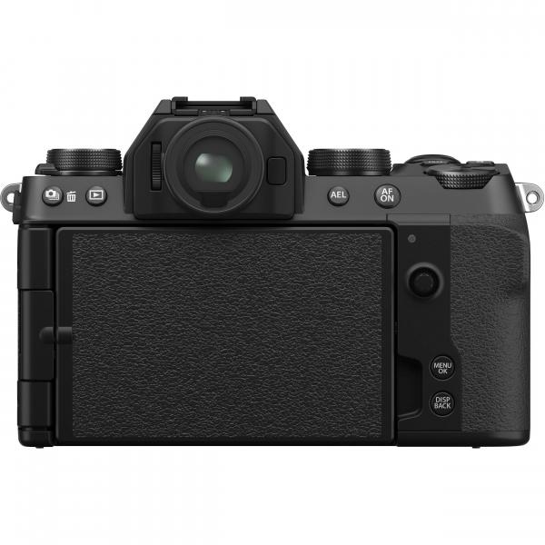 FUJIFILM X-S10 Mirrorless Digital Camera Kit cu Obiectiv XF 18-55mm Negru + Fujifilm 55-200mm F3.5-4.8 R LM OIS XF 11