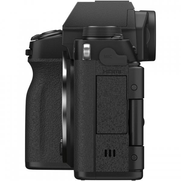 FUJIFILM X-S10 Mirrorless Digital Camera Kit cu Obiectiv XF 18-55mm Negru + Fujifilm 55-200mm F3.5-4.8 R LM OIS XF 12