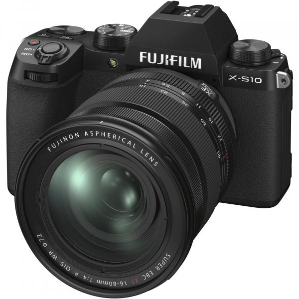 FUJIFILM X-S10 Mirrorless Digital Camera Kit cu 16-80mm [0]