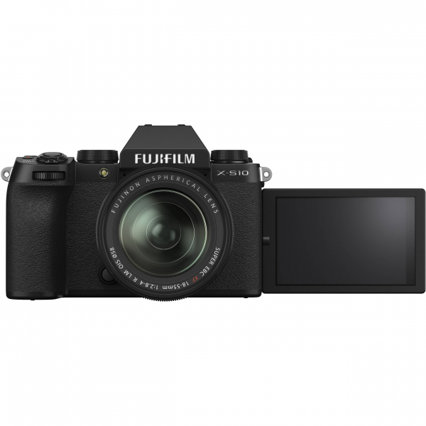 FUJIFILM X-S10 Mirrorless Digital Camera Kit cu 18-55mm 2