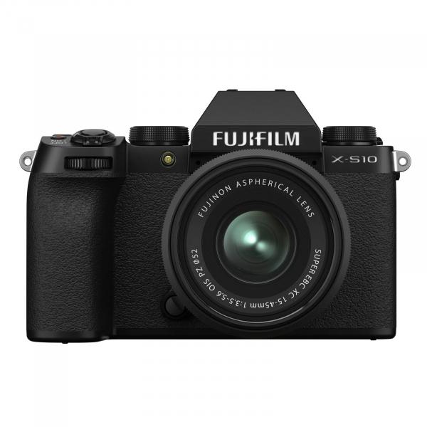 FUJIFILM X-S10 Mirrorless Kit cu XC 15-45mm Negru + Fujifilm 55-200mm F3.5-4.8 R LM OIS XF [2]