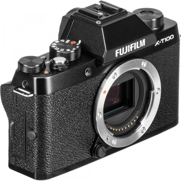 Fujifilm X-T100, Mirrorless 24MP body - negru 5