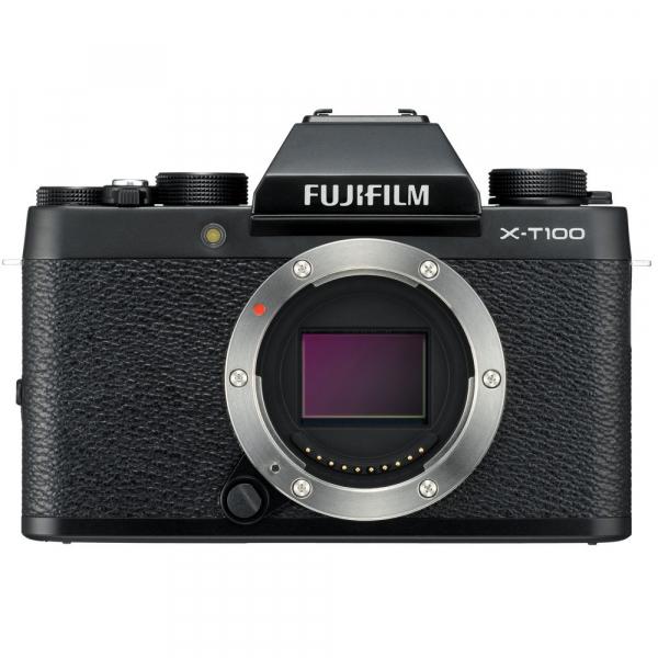 Fujifilm X-T100, Mirrorless 24MP body - negru 0