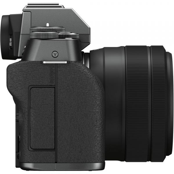 Fujifilm X-T200 Aparat Foto Mirrorless 24MP + XC 15-45mm f/3.5-5.6 OIS - Dark Silver 6