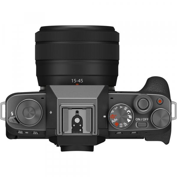 Fujifilm X-T200 Aparat Foto Mirrorless 24MP + XC 15-45mm f/3.5-5.6 OIS - Dark Silver 4