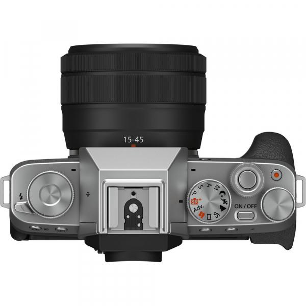 Fujifilm X-T200 Aparat Foto Mirrorless 24MP + XC 15-45mm f/3.5-5.6 OIS - Silver [4]