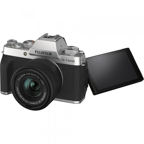 Fujifilm X-T200 Aparat Foto Mirrorless 24MP + XC 15-45mm f/3.5-5.6 OIS - Silver [9]