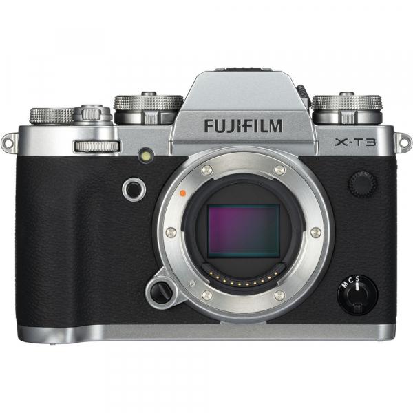 Fujifilm X-T3 Aparat Foto Mirrorless Body Senzor 26MP X-Trans 4K/60p Argintiu 0