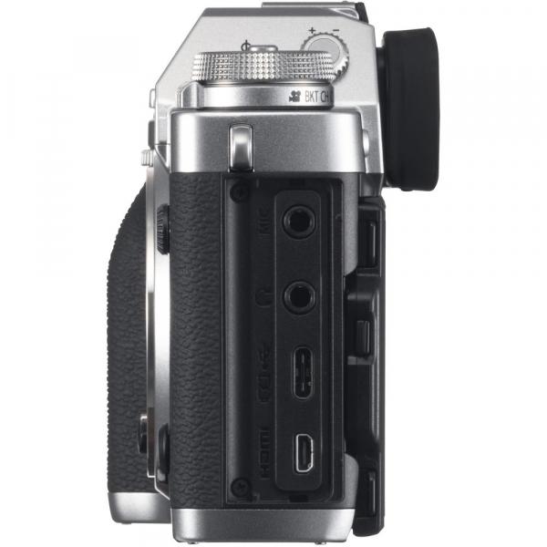 Fujifilm X-T3 Aparat Foto Mirrorless Body Senzor 26MP X-Trans 4K/60p Argintiu 4