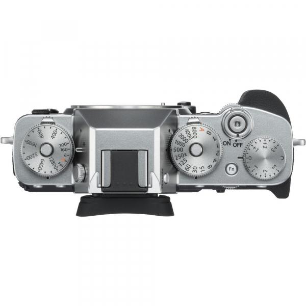 Fujifilm X-T3 Aparat Foto Mirrorless Body Senzor 26MP X-Trans 4K/60p Argintiu 2