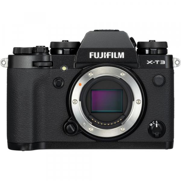 Fujifilm X-T3 Aparat Foto Mirrorless Body Senzor 26MP X-Trans 4K/60p Negru 1