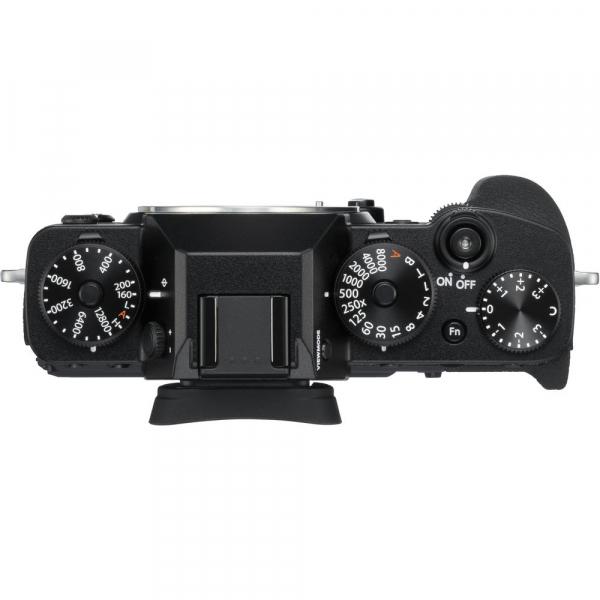 Fujifilm X-T3 Aparat Foto Mirrorless Body Senzor 26MP X-Trans 4K/60p Negru 3