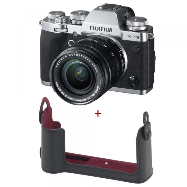 Fujifilm X-T3 Aparat Foto Mirrorless Kit XF18-55mm 0