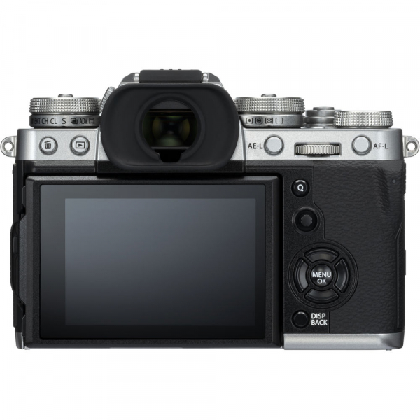 Fujifilm X-T3 Aparat Foto Mirrorless Kit XF18-55mm Senzor 26MP X-Trans 4K/60p Argintiu 2