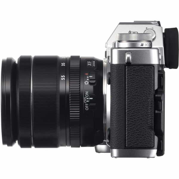 Fujifilm X-T3 Aparat Foto Mirrorless Kit XF18-55mm Senzor 26MP X-Trans 4K/60p Argintiu 4